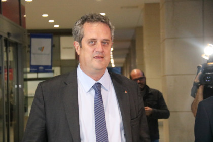 Joaquim Forn in October (by ACN)