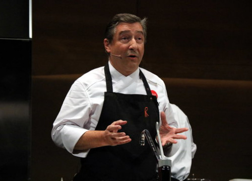 Joan Roca, chef at El Celler de Can Roca (by Gerard Vilà)