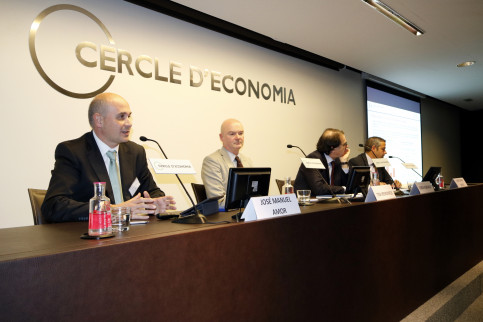 Presentation of Barometer on climate and outlook for British investment in Spain, in Barcelona on Thursday (by ACN)