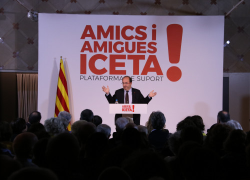 Miquel Iceta on Sunday (by ACN)