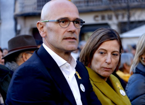 Former foreign affairs minister Raül Romeva, in jail for his role in the independence bid (by Rafa Garrido)