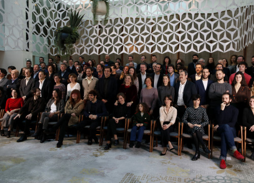 Nominees for the 10th Gaudí Awards in Barcelona on January 17 2018 (by Guillem Roset)
