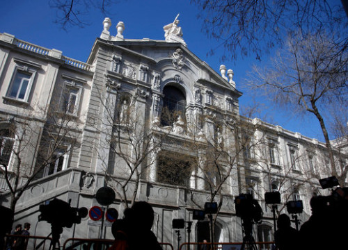 The Spanish Supreme Court on January 30, 2018 (by Javier Barbancho)
