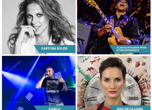 Some of the acts to perform at Cambrils Music Festival (by ACN)