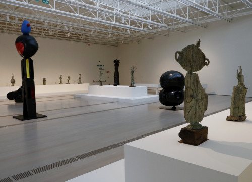 A photo of the exhibit 'Joan Miró: Sculptures 1928-1982' in Santander, on March 19 2018 (by Guillem Roset)