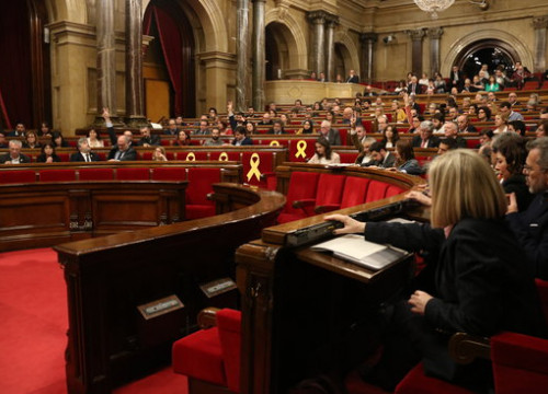 Catalan parliamentary session (By Elisenda Rosanas / ACN)