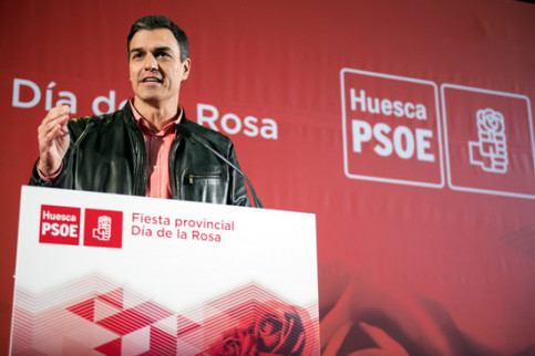 Spanish Socialists leader Pedro Sánchez (by ACN)