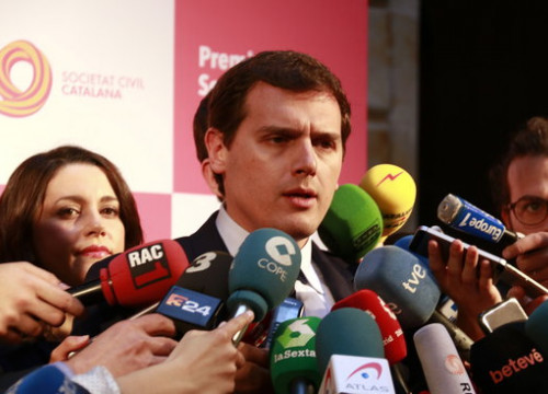 The leader of Ciutadans in Spain, Albert Rivera (by ACN)