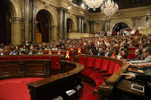 The Catalan chamber on May 3 (by Núria Julià)