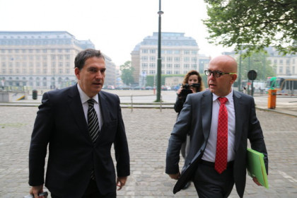 Lawyers Jaume Alonso-Cuevillas and Gonzalo Boye on Wednesday (by ACN)