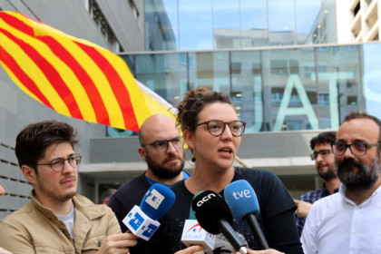 Berga mayor Montse Venturós (by ACN)
