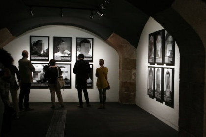 'Political prisoners in contemporary Spain' on display at the CCCB in Barcelona (by ACN)