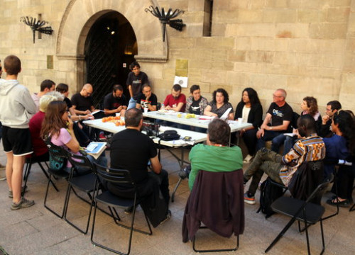 Meeting of Fruit with Social Justice in Lleida on Monday (by ACN)