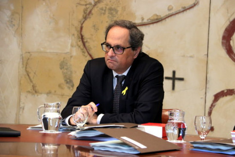Quim Torra on Tuesday (by ACN)