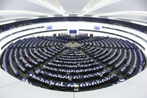 Image of the European Parliament in June 2018 (by European Parliament)