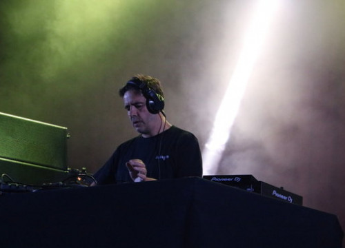 Producer and DJ Laurent Garnier plays at Sónar on June 14 2018 (by Pere Francesch)