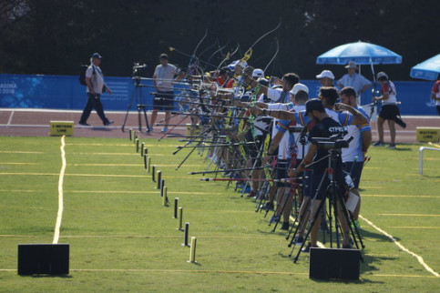 The archers fired the starting shot for the activities of the Mediterranean Games (by ACN)