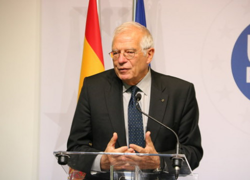 Spanish foreign affairs minister Josep Borrell (by  ACN)