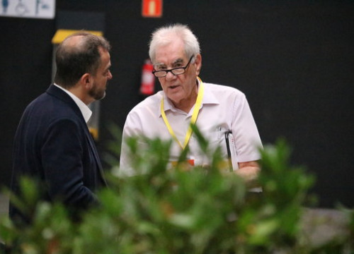 Alfred Bosch, ERC's former leader in Barcelona /left), and Ernest Margall, Catalonia's foreign minister and his most likely successor (by Bernat Vilaró)