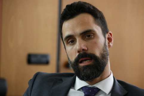 Catalan parliament speaker Roger Torrent (by ACN)