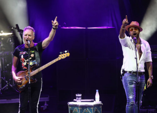 Sting and Shaggy play at Cap Roig festival in 2018 (by Cap Roig)