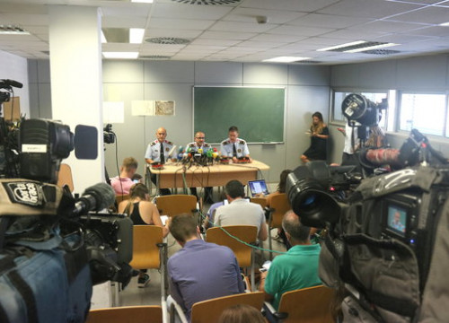 Press conference by the Catalan police in Cornellà de Llobregat on August 20, 2018 (by Elisenda Rosanas)