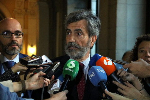 Carlos Lesmes, president of Spain's General Council of the Judiciary (by Tània Tàpia)