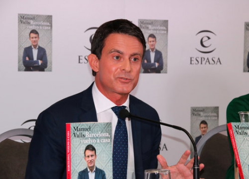Mayoral candidate Manuel Valls (by Nazaret Romero, ACN)