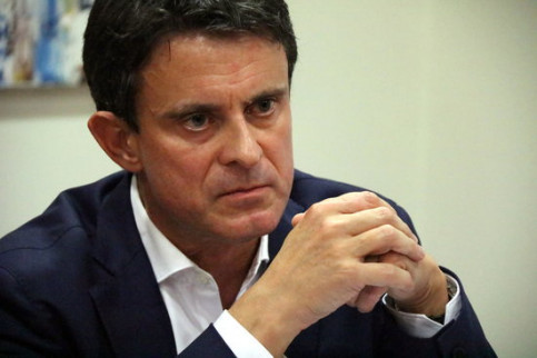 Manuel Valls is running in the Barcelona election (by ACN)