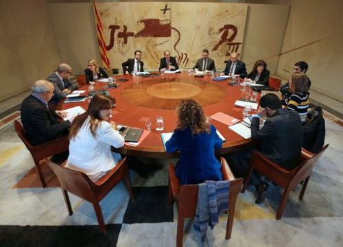 The Catalan cabinet meeting on November 13, 2018 (by Rubén Moreno/Catalan government)