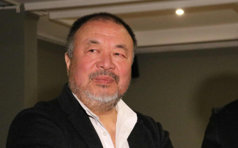 Chinese artist and dissident Ai Weiwei (by Natàlia Segura)