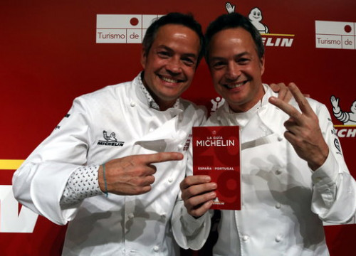 The Torres brothers won two Michelin stars in the gala in Lisbon (by Elisenda Rosanas, ACN)