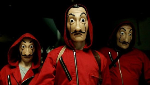 Dalí masks in 'Money Heist' contested by painter's foundation