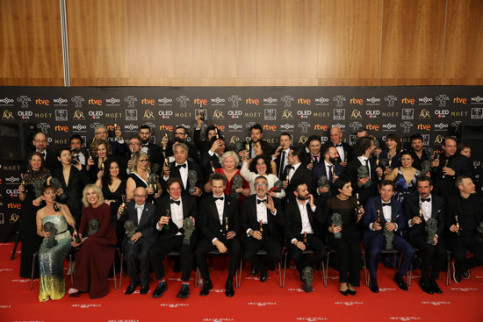 Winners of the Goya Film Awars (by EUROPA PRESS)