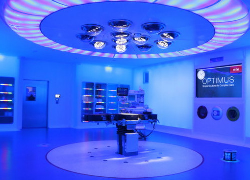 Image of the new operating room with 5G of Barcelona's Hospital Clínic (by Anna Amat Vendrell)