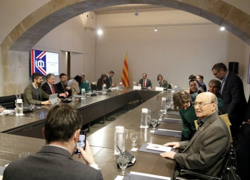 The 'Brexit plan' meeting to help minimize the effects of Brexit on Catalan companies (Photo: Mariona Puig)