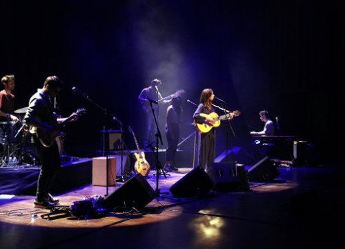 The concert of Judit Neddermann to close the Barnasants festival, April 2019