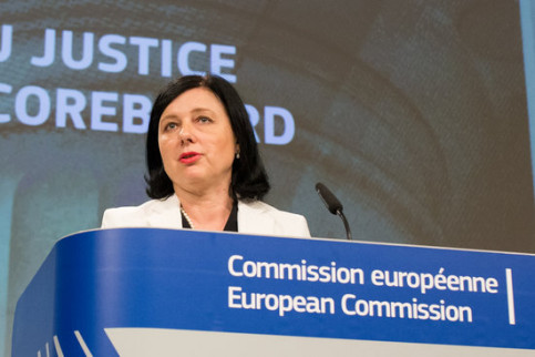 EU Justice Commissioner V?ra Jourová (by EU)