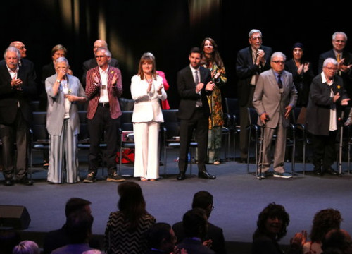 Leo Messi among the awardees of one of Catalonia's highest civic honours, the Creu de Sant Jordi. (Photo: Pau Cortina)