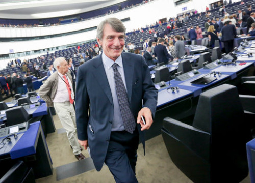 President of the European Parliament, David-Maria Sassoli. (Photo: European Parliament)