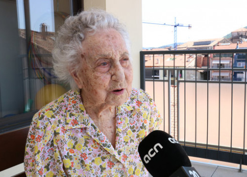 Maria Branyas, aged 112, is the oldest person in Catalonia (by Guifré Jordan)