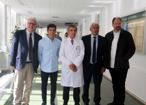 Those supporting the initiative include MotoGP champion Marc Márquez and actor Josep Maria Pou (by Pol Solà)