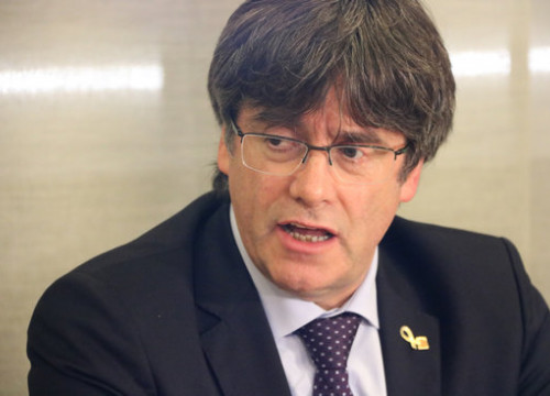 Puigdemont is currently exiled in Belgium (by Natàlia Segura)