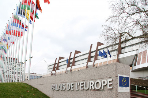 The headquarters for the Council of Europe in Strasbourg on February 4 2011 (by Jordi Font)