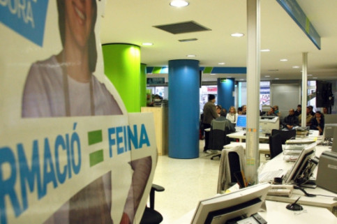 Employment office in Catalonia (by ACN)