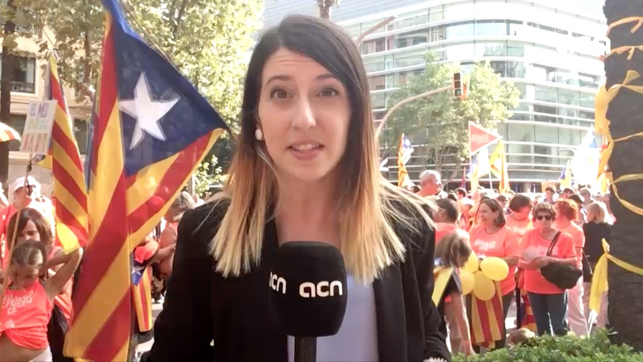 11-Sept-18 TV News Special: '1 million protest for Catalan independence'