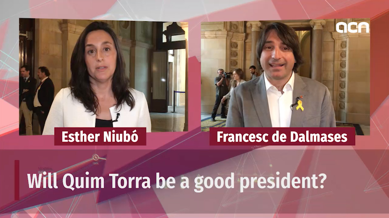 14-May-18 TV News Special: 'Quim Torra new Catalan president'