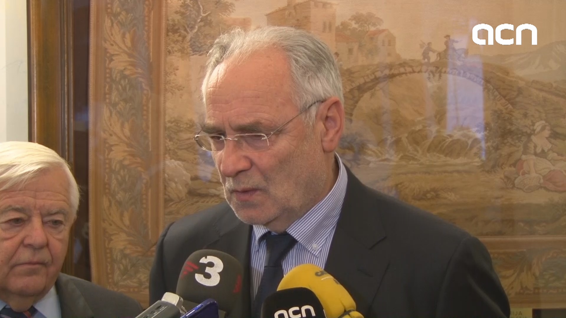 MEP and former minister Ivo Vajgl speaks of the Catalan issue from Slovenian perspective