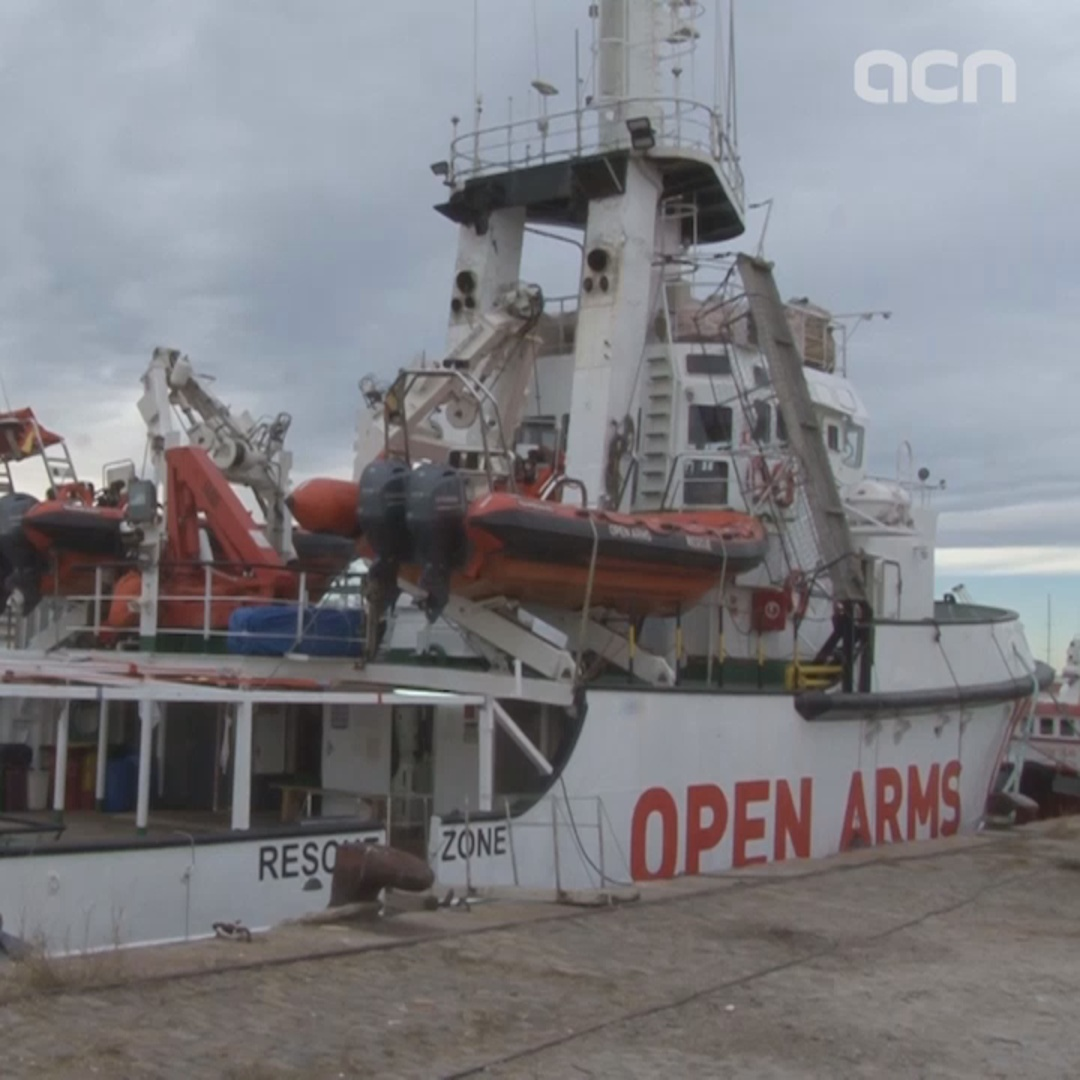 Spain denies Openarms vessel from leaving on rescue mission