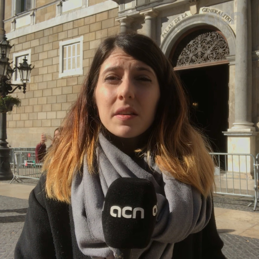 Rachel Bathgate reports from the Catalan government headquarters
